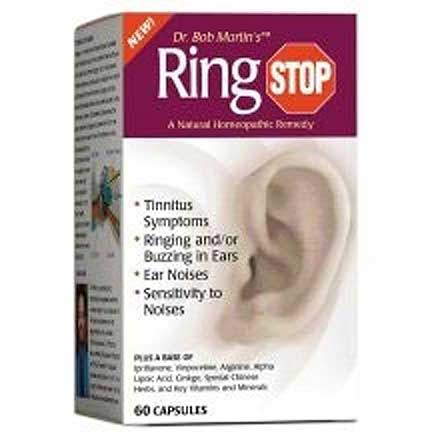 RingStop Capsules Four Bottles